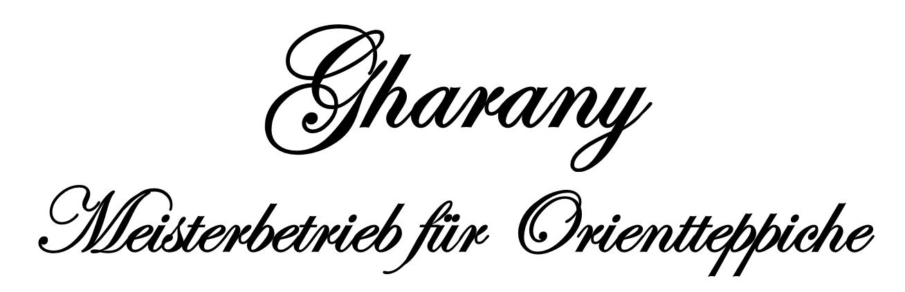 Gharany Meisterbetrieb für Orientteppich München
